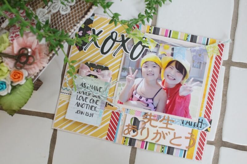 先生 へ メッセージ 幼稚園 の カード の